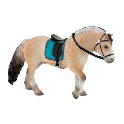 Bullyland 62758 - Koń fiordzki ogier z siodłem
