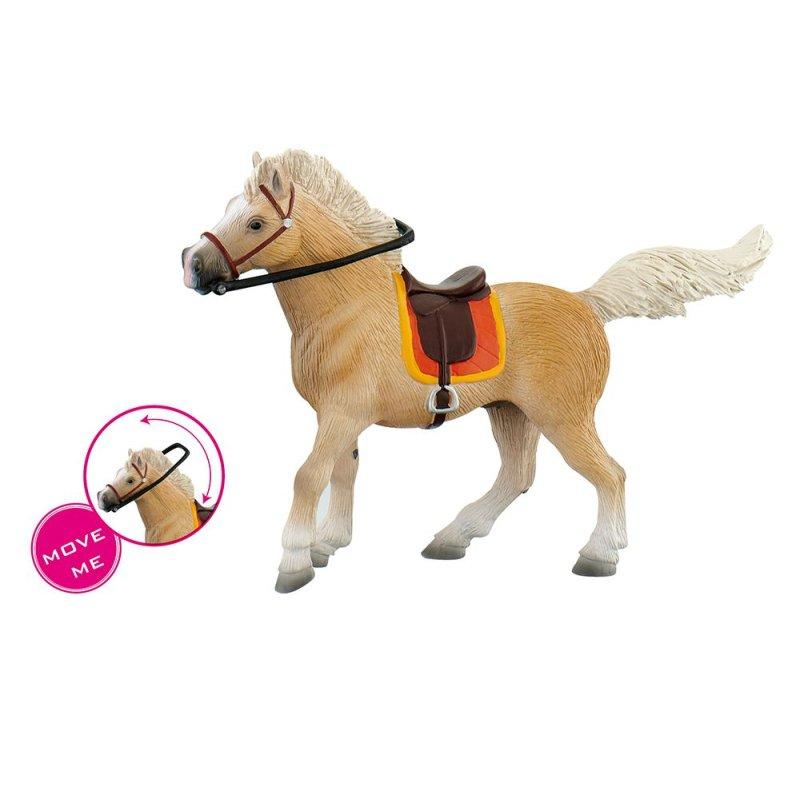 Bullyland 62762 - Koń palomino klacz z siodłem