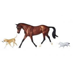 Breyer Traditional 1807 - Protocol i dwa psy