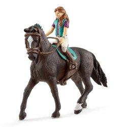 Schleich 42413 - Jeździec Lisa i wałach Storm