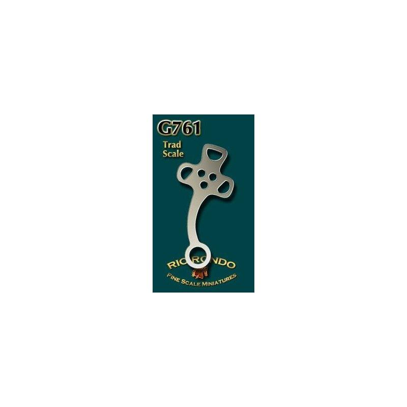 Rio Rondo skala TR - Hackamore G761 srebrne komplet
