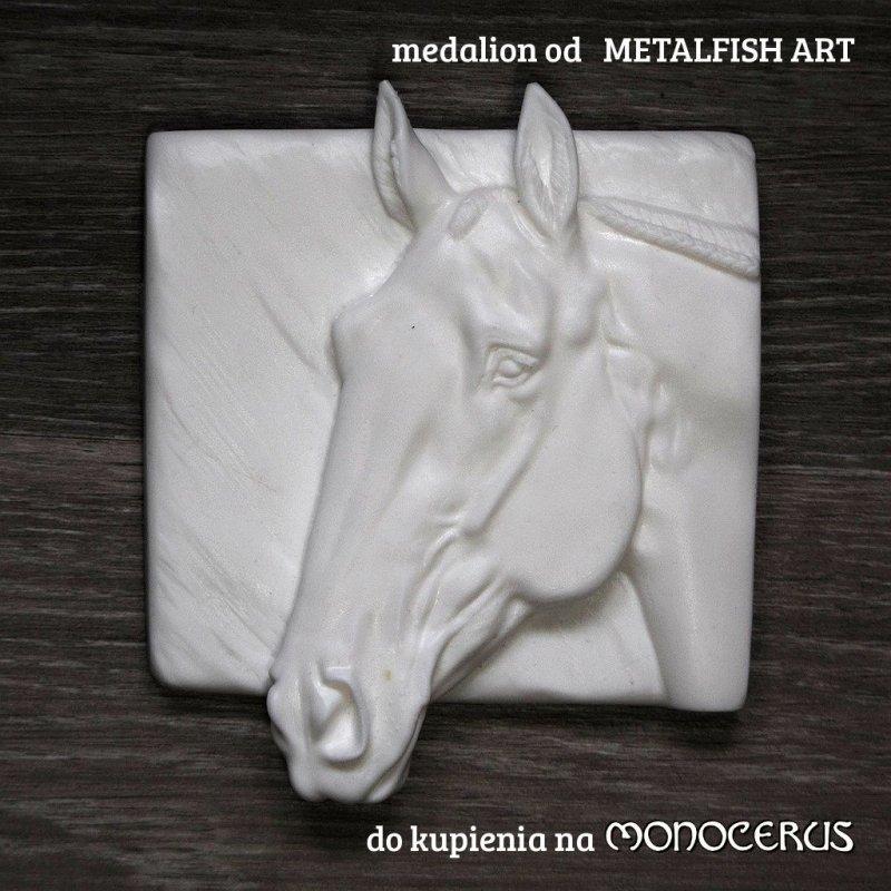 """Medalion """"Zenit"""" koń luzytański"""