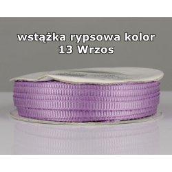 Wstążka rypsowa 3mm kolor 13 Wrzos cała rolka