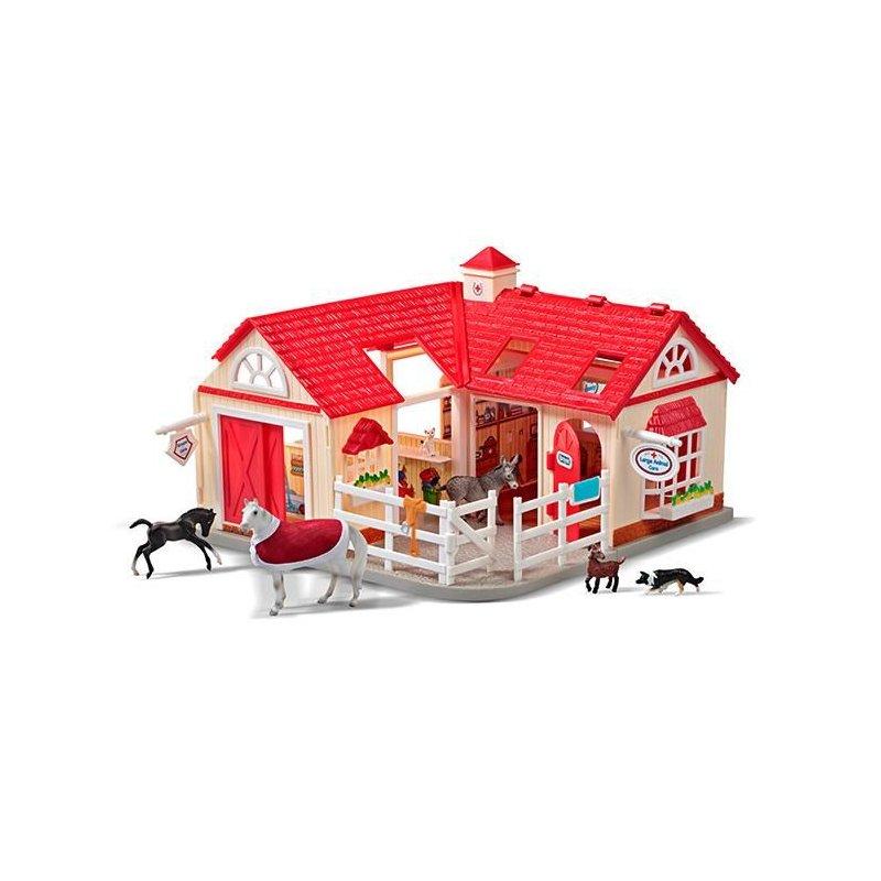Breyer Stablemates 59204 - Szpital dla zwierząt Deluxe
