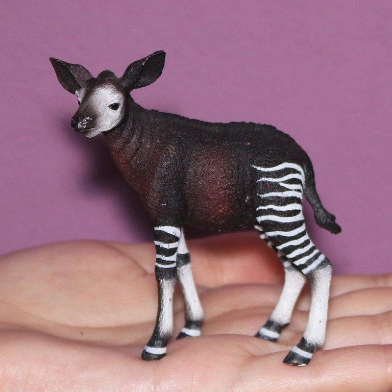 CollectA 88533 - Okapi leśne cielę outlet