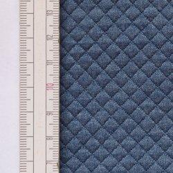Materiał pikowany 5x5 Jeans