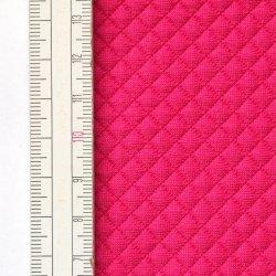 Materiał pikowany 5x5 Amarantowy