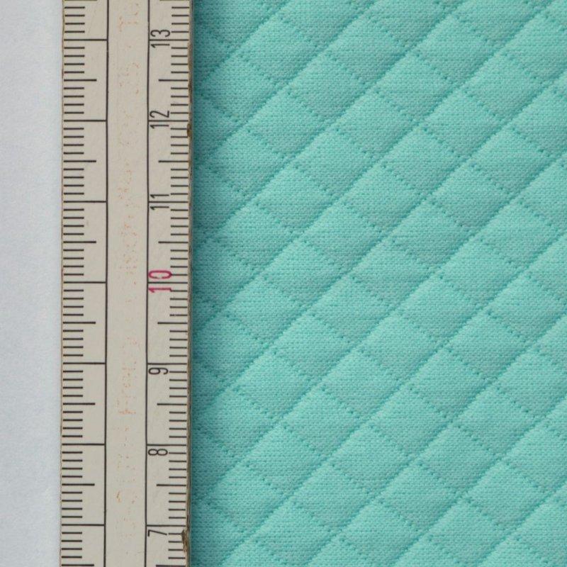 76d552eeacdb30 Materiał pikowany 7x7 Aqua - Monocerus - sklep internetowy