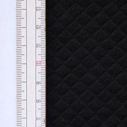 Materiał pikowany 7x7 Czarny