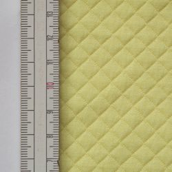Materiał pikowany 7x7 Żółty