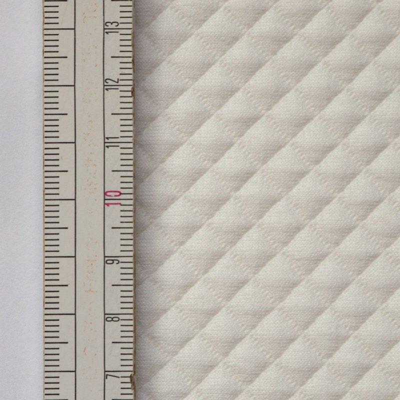 Materiał pikowany 7x7 Ecru