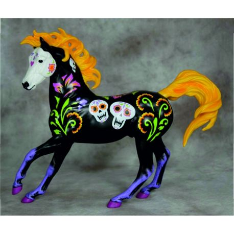 Breyer Traditional 1778 - Calavera Halloween Horse 2017