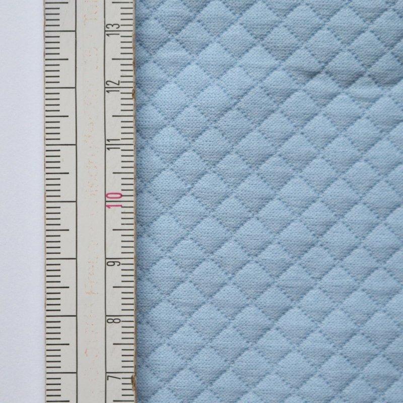 Materiał pikowany 5x5 Ciemny Błękit