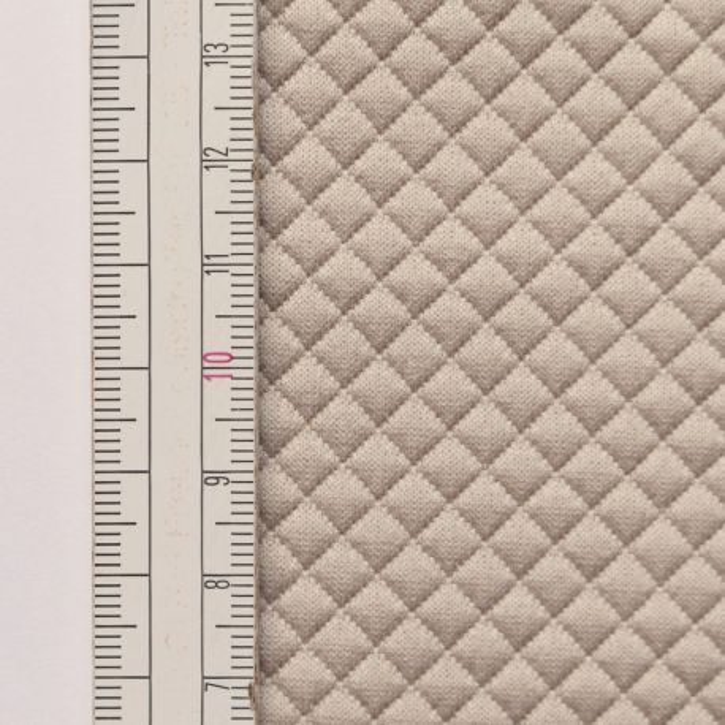 Materiał pikowany 5x5 Beżowy