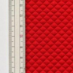 Materiał pikowany 5x5 Czerwony