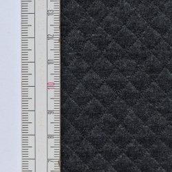 Materiał pikowany 8x8 Ciemno Szary Melanż