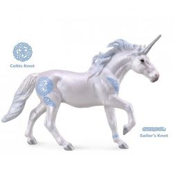 CollectA 88849 - Jednorożec ogier niebieski