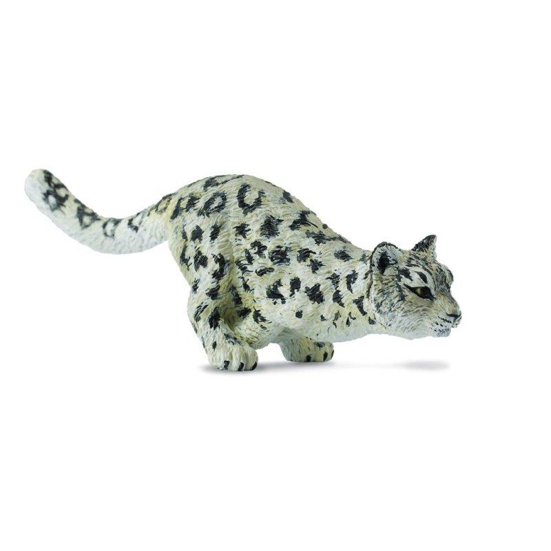 CollectA 88498 - Irbis śnieżny leopard młody biegnący