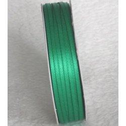 Wstążka satynowa 1,6 mm/1 m kolor zielony