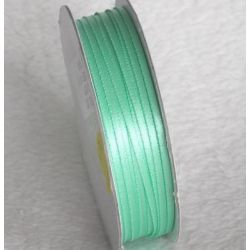 Wstążka satynowa 1,6 mm/1 m kolor miętowy