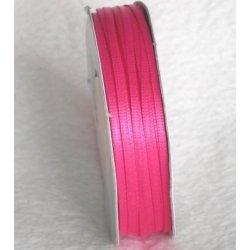 Wstążka satynowa 1,6 mm/1 m kolor różowy