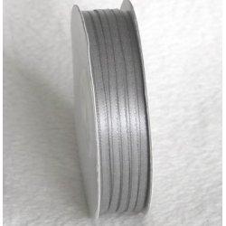 Wstążka satynowa 1,6 mm/1 m kolor szary