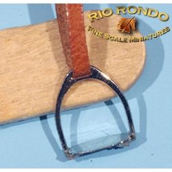 Rio Rondo skala LB - Strzemiona angielskie JX743s srebrne komplet