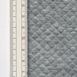 Materiał pikowany 5x5 Jasny Szary Melanż