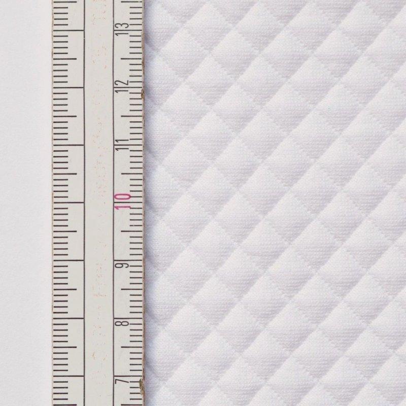 Materiał pikowany 7x7 Biały