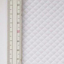 Materiał pikowany 5x5 Biały