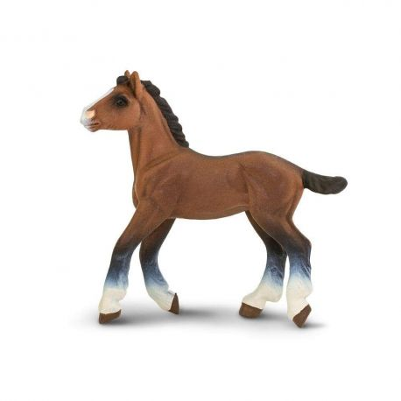Safari Ltd 151405 - Koń clydesdale źrebię
