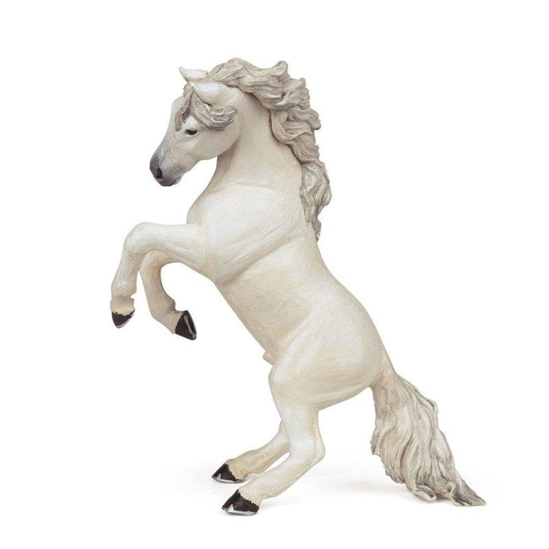 Papo 51521 - Siwy koń stojący dęba