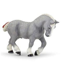 Papo 51551 - Koń perszeron siwy