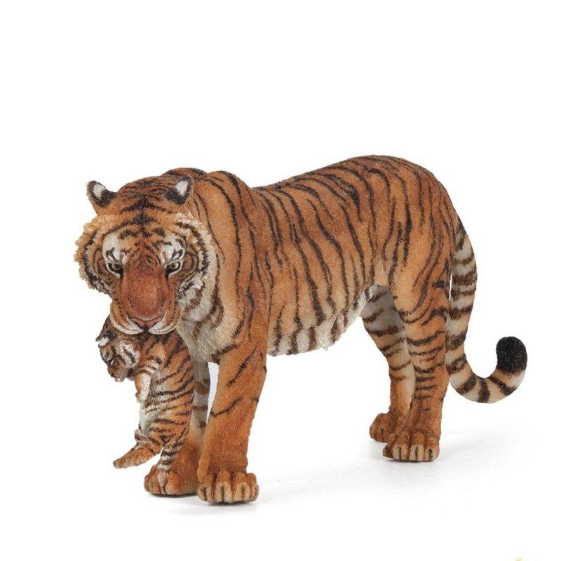 Papo 50118 - Tygrysica z młodym