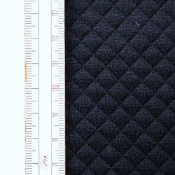Materiał pikowany 7x7 Czarno-granatowy