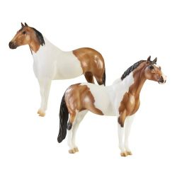Breyer Traditional 1822 - Kuce The Gangsters - Tony Da Pony and Bugsy Maloney