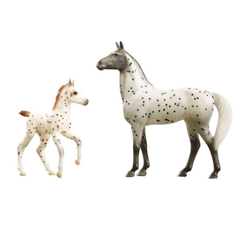 Breyer Classics 62207 - Koń i źrebak Spotted Wonders