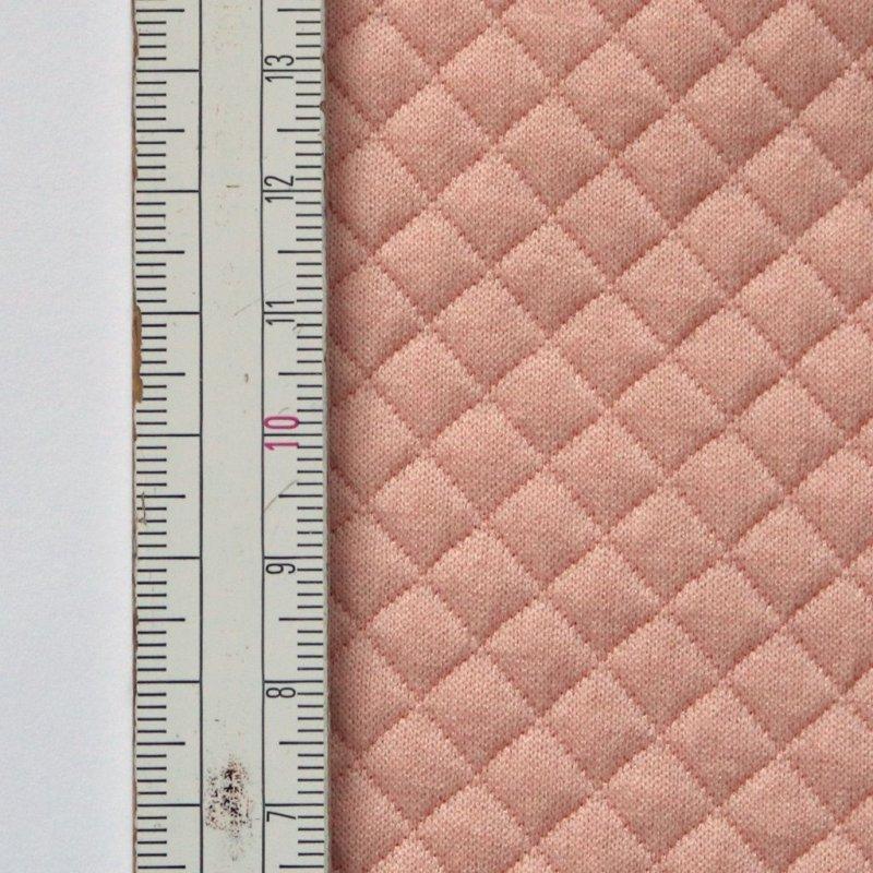 Materiał pikowany 7x7 Łososiowy