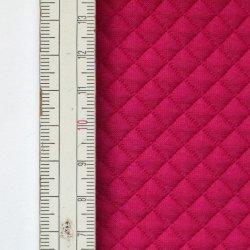 Materiał pikowany 7x7 Amarantowy
