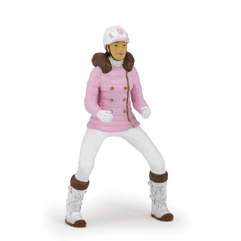 Papo 52011 - Jeździec zimowa dżokejka