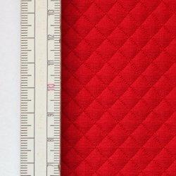 Materiał pikowany 10x10 Czerwony