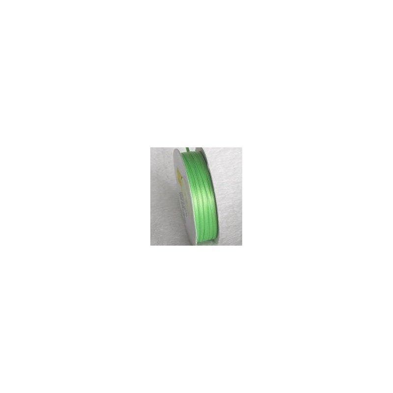 Wstążka satynowa 1,6 mm/1 m kolor jasna zieleń