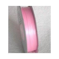 Wstążka satynowa 1,6 mm/1 m kolor jasny róż