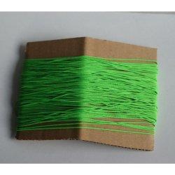 Sznurek pleciony 1mm/1m neonowy zielony