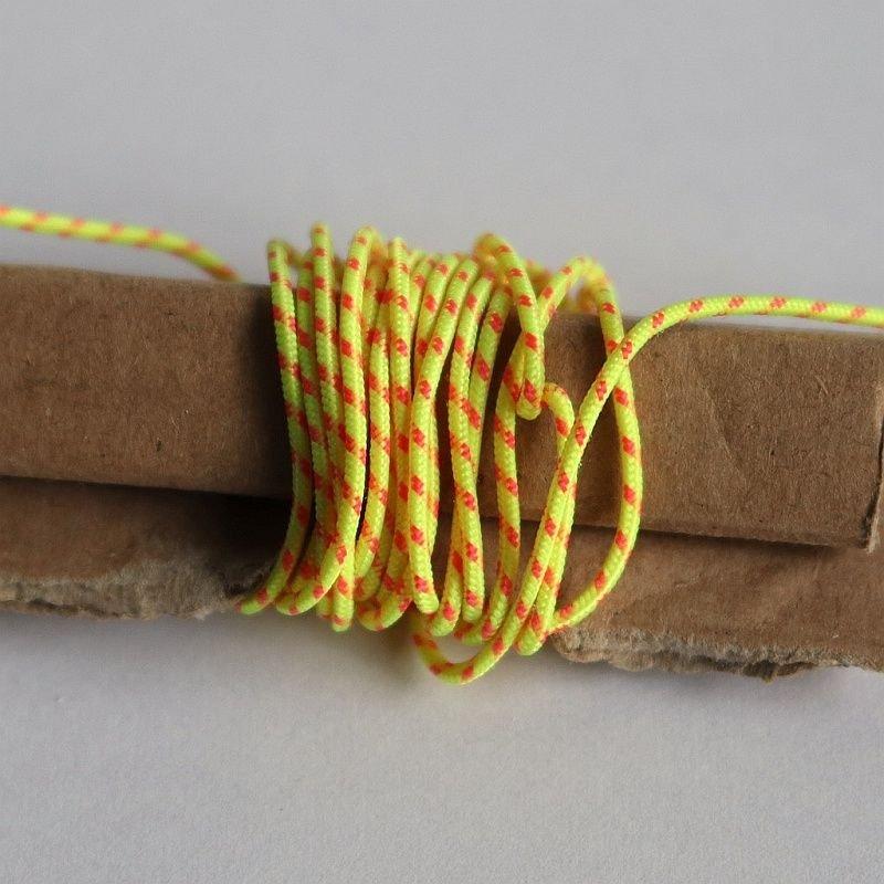 Linka 1mm/1m kolor neonowy żółty z czerwonym