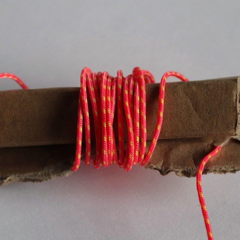 Linka 1mm/1m kolor neonowy różowy z żółtym
