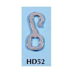 Rio Rondo skala LB - HD52s zestaw 12x haczyki srebrne