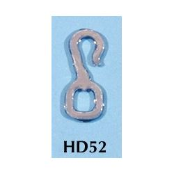 Rio Rondo skala LB - HD52s zestaw 20x haczyki srebrne