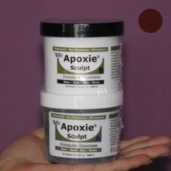 Apoxie Sculpt Brown 450 g