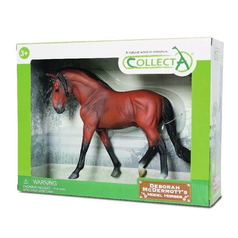 CollectA 89554 - Ogier andaluzyjski gniady w pudełku